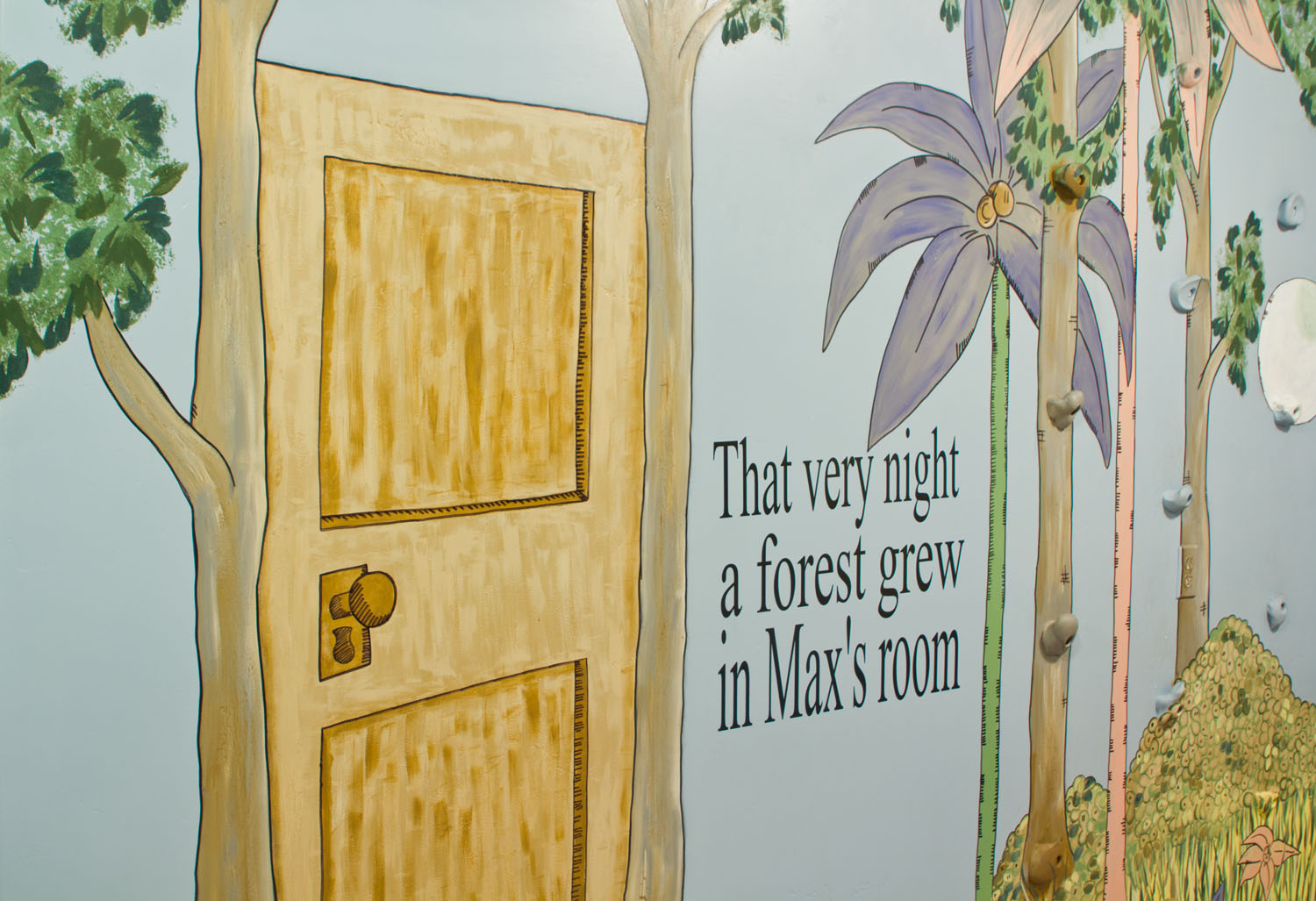 where the wild things are wall murals cassidy tuttle photography. Black Bedroom Furniture Sets. Home Design Ideas