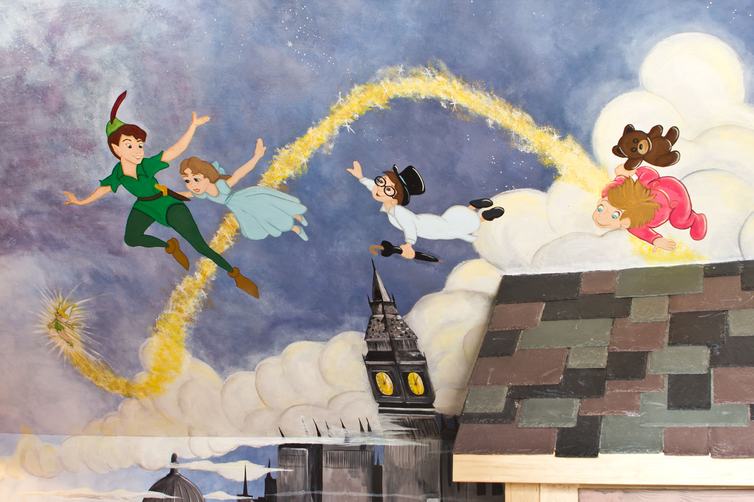 28 peter pan wall mural peter pan mural tinkerbell disney peter pan wall mural peter pan wall murals cassidy tuttle photography