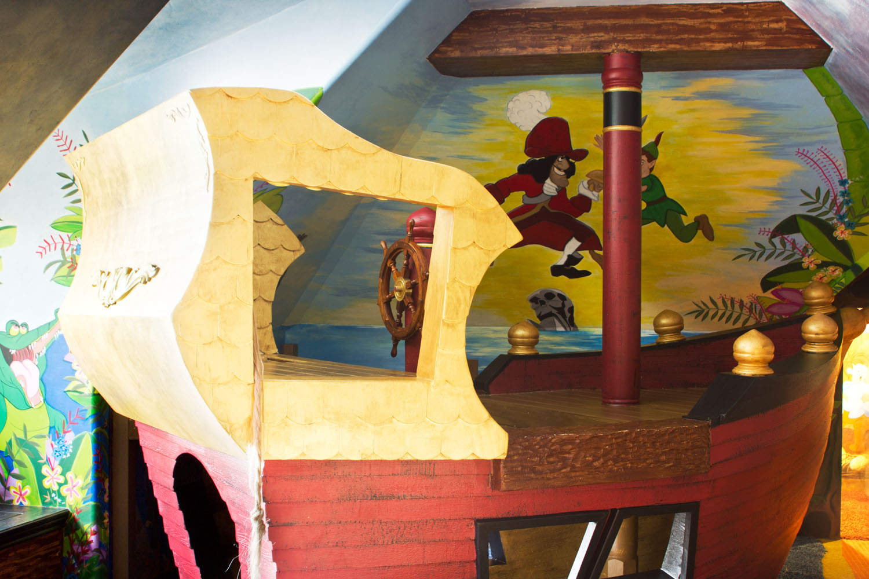 Peter Pan Wall Murals - Cassidy Tuttle Photography